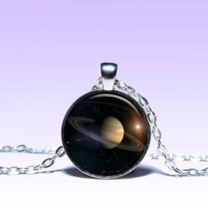 ~ Mystic Saturn Planet Pendant ~